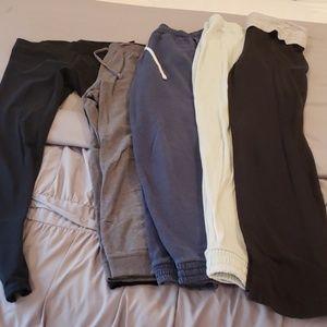 Bundle of legging,sweatpants and yoga pants